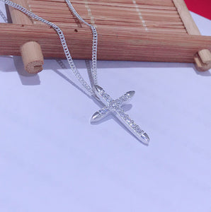 Crossbar Necklace  92.5 Italy silver