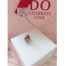 Load image into Gallery viewer, Piggy Pandora charm 92.5 Italy silver