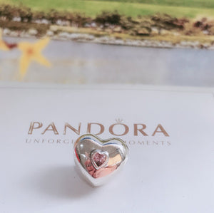 Copy of Love Pandora charm 92.5 Italy silver