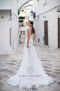 Italian Dream 'Magnolia' Nora Naviano Sposa RTW 18298-371 Ready To Wear European Bridal Wedding Gown Designer Philippines