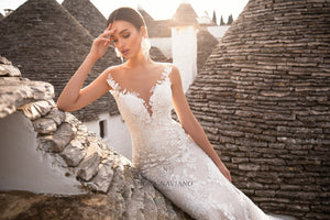 Italian Dream 'Margo' Nora Naviano Sposa RTW 18306-350 Ready To Wear European Bridal Wedding Gown Designer Philippines