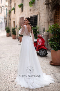 Italian Dream 'Marina' Nora Naviano Sposa RTW 18319-297 Ready To Wear European Bridal Wedding Gown Designer Philippines