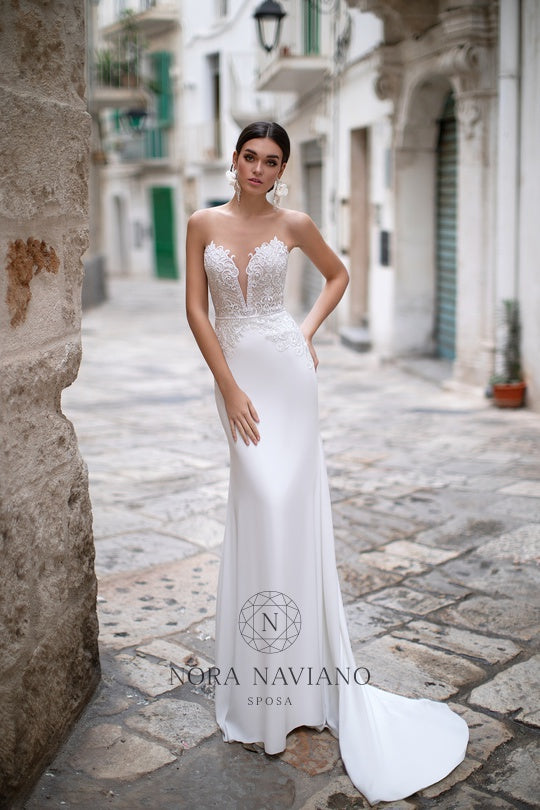 Italian Dream 'Marsha' Nora Naviano Sposa RTW 18322-400 Ready To Wear European Bridal Wedding Gown Designer Philippines