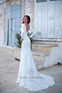 Italian Dream 'Matilda' Nora Naviano Sposa RTW 19003-250 Ready To Wear European Bridal Wedding Gown Designer Philippines