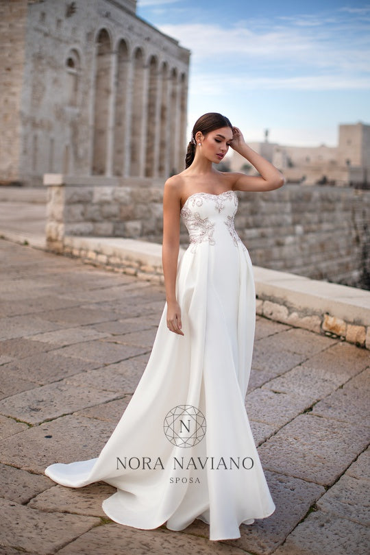 Italian Dream 'Matina' Nora Naviano Sposa RTW 19008-212 Ready To Wear European Bridal Wedding Gown Designer Philippines