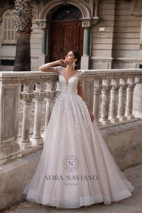 Italian Dream 'Maxime' Nora Naviano Sposa RTW 20008-450 Ready To Wear European Bridal Wedding Gown Designer Philippines