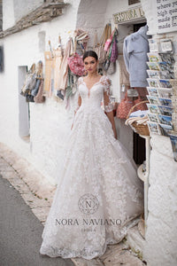 Italian Dream 'Milana' Nora Naviano Sposa RTW 20025-480 Ready To Wear European Bridal Wedding Gown Designer Philippines