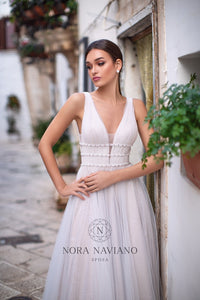 Italian Dream 'Miriam' Nora Naviano Sposa RTW 73317-00 Ready To Wear European Bridal Wedding Gown Designer Philippines