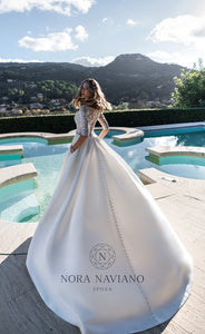 Voyage 'Valley' Nora Naviano Sposa RTW 17317-00 Ready To Wear European Bridal Wedding Gown Designer Philippines