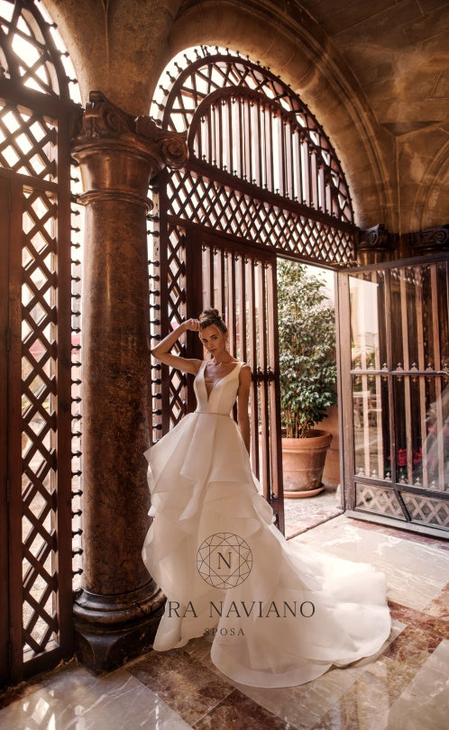 Voyage 'Vanille' Nora Naviano Sposa RTW 17321-00 Ready To Wear European Bridal Wedding Gown Designer Philippines