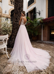 Voyage 'Veda' Nora Naviano Sposa RTW 17325-00 Ready To Wear European Bridal Wedding Gown Designer Philippines