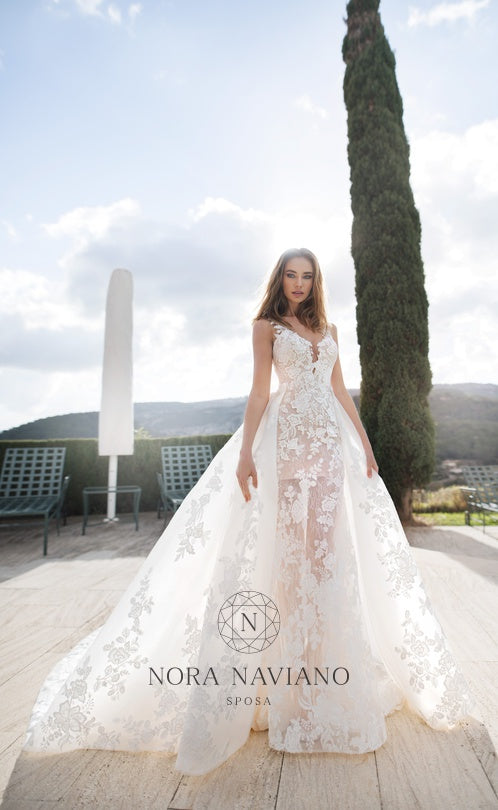 Voyage 'Verde' Nora Naviano Sposa RTW 17340-339 Ready To Wear European Bridal Wedding Gown Designer Philippines