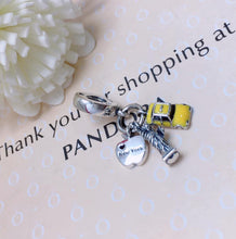 Load image into Gallery viewer, Travel Pandora charm 92.5 Italy silver