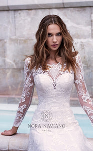 Voyage 'Verona' Nora Naviano Sposa RTW 17348-00 Ready To Wear European Bridal Wedding Gown Designer Philippines