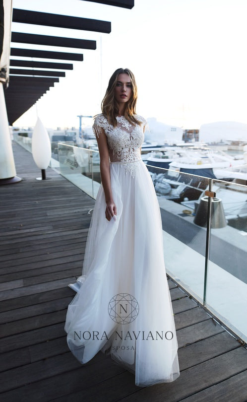 Voyage 'Veronica' Nora Naviano Sposa RTW 17349-1-00 Ready To Wear European Bridal Wedding Gown Designer Philippines