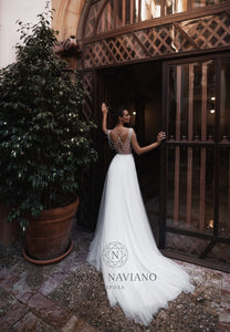 Voyage 'Vessat' Nora Naviano Sposa RTW 1352-00 Ready To Wear European Bridal Wedding Gown Designer Philippines