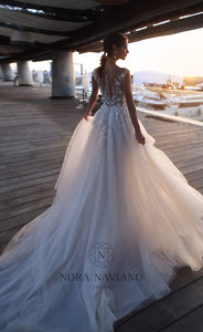 Voyage 'Villette' Nora Naviano Sposa RTW 18011-00 Ready To Wear European Bridal Wedding Gown Designer Philippines