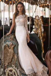 NYC 'Alba' Elly Haute Couture RTW 043-660 Ready To Wear European Bridal Wedding Gown Designer Philippines