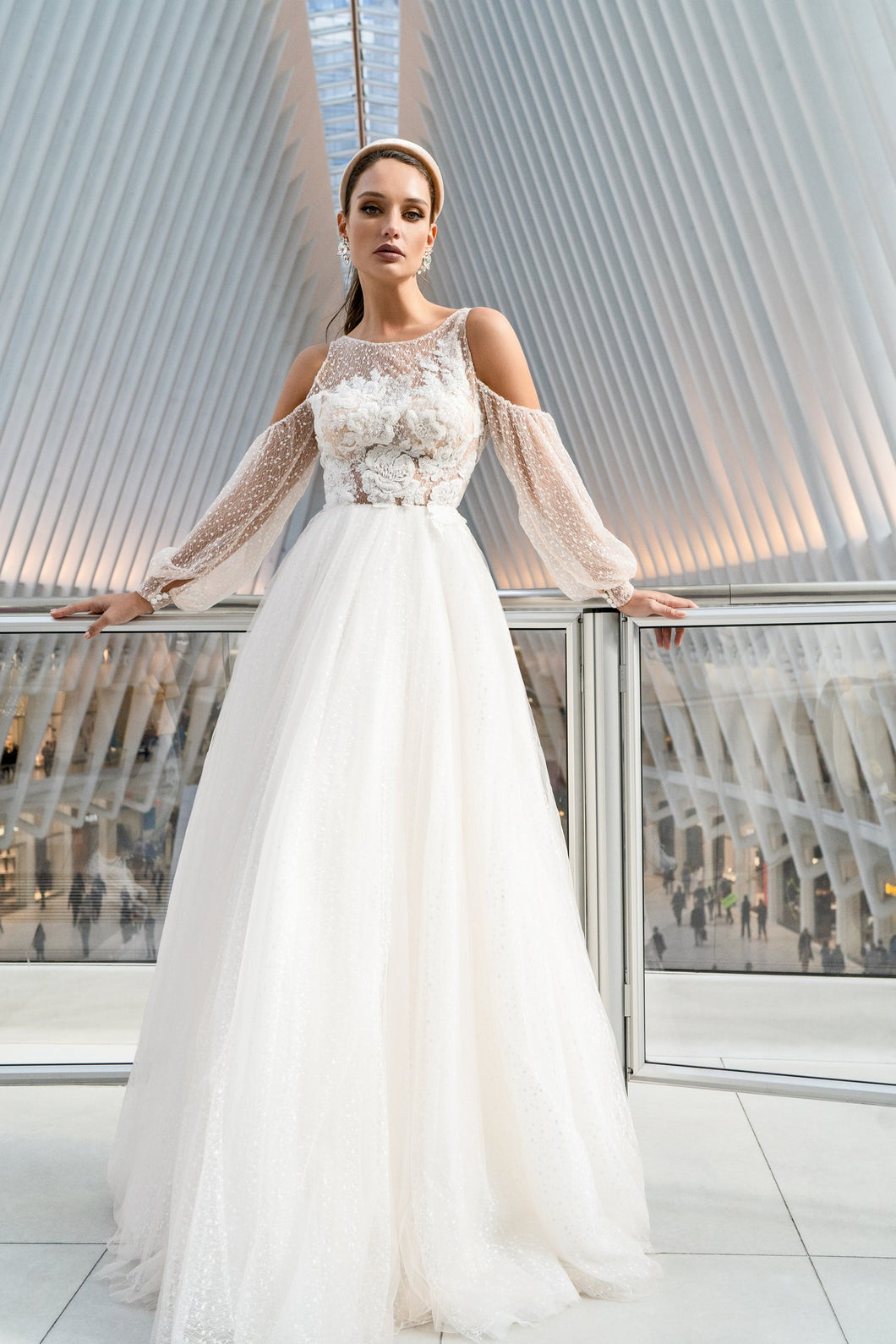 NYC 'Augusta' Elly Haute Couture RTW 044-590 Ready To Wear European Bridal Wedding Gown Designer Philippines