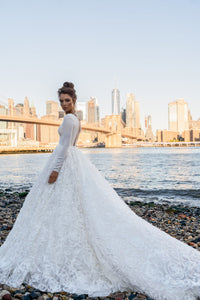 NYC 'Axella' Elly Haute Couture RTW 046-720 Ready To Wear European Bridal Wedding Gown Designer Philippines