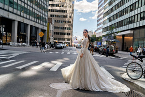 NYC 'Angelica' Elly Haute Couture RTW 047-925 Ready To Wear European Bridal Wedding Gown Designer Philippines