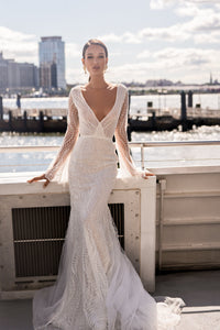 NYC 'Dala' Elly Haute Couture RTW 051-540 Ready To Wear European Bridal Wedding Gown Designer Philippines