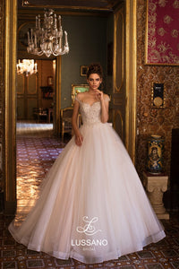 Sicilian Sky 'Bertany' Lussano Bridal RTW 18045-477 Ready To Wear European Bridal Wedding Gown Designer Philippines