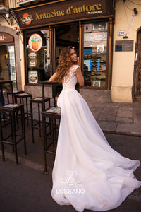 Sicilian Sky 'Breany' Lussano Bridal RTW 19041- 403 Ready To Wear European Bridal Wedding Gown Designer Philippines