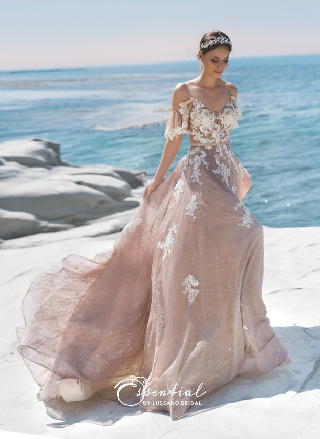 Essential Collection 'Ashley' Lussano Bridal RTW 73026A-1-318 Ready To Wear European Bridal Wedding Gown Designer Philippines