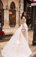Load image into Gallery viewer, Dolly Collection 'Jacklyn' Naviblue Bridal RTW 17306-530 Ready To Wear European Bridal Wedding Gown Designer Philippines