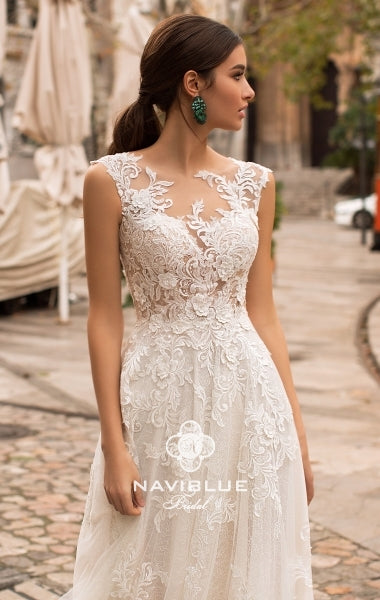Dolly Collection 'Jacob' Naviblue Bridal RTW 17307-393 Ready To Wear European Bridal Wedding Gown Designer Philippines