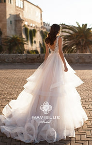 Dolly Collection 'Janelle' Naviblue Bridal RTW 17327-446 Ready To Wear European Bridal Wedding Gown Designer Philippines