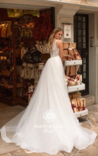Load image into Gallery viewer, Dolly Collection 'Jemima' Naviblue Bridal RTW 17335-500 Ready To Wear European Bridal Wedding Gown Designer Philippines