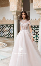 Load image into Gallery viewer, Dolly Collection 'Jemmy' Naviblue Bridal RTW 17356-446 Ready To Wear European Bridal Wedding Gown Designer Philippines