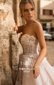Dolly Collection 'Jesse' Naviblue Bridal RTW 18015-562 Ready To Wear European Bridal Wedding Gown Designer Philippines