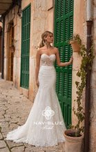 Load image into Gallery viewer, Dolly Collection 'Jillian' Naviblue Bridal RTW 18024-449 Ready To Wear European Bridal Wedding Gown Designer Philippines