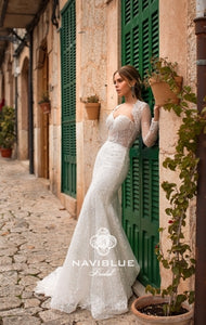 Dolly Collection 'Jillian' Naviblue Bridal RTW 18024-449 Ready To Wear European Bridal Wedding Gown Designer Philippines
