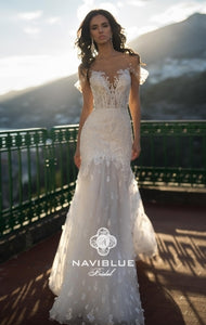 Sweety Collection 'Naya' Naviblue Bridal RTW 18321-450 Ready To Wear European Bridal Wedding Gown Designer Philippines
