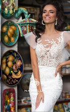 Load image into Gallery viewer, Sweety Collection 'Nerissa' Naviblue Bridal RTW 18333-400 Ready To Wear European Bridal Wedding Gown Designer Philippines