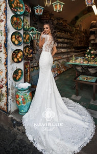 Sweety Collection 'Nerissa' Naviblue Bridal RTW 18333-400 Ready To Wear European Bridal Wedding Gown Designer Philippines