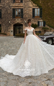 Royal  Collection  Naviblue Bridal RTW NB 020-636 Ready To Wear European Bridal Wedding Gown Designer Philippines