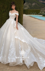 Royal  Collection  Naviblue Bridal RTW NB 031-636 Ready To Wear European Bridal Wedding Gown Designer Philippines