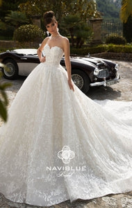 Royal  Collection  Naviblue Bridal RTW NB 033-1039 Ready To Wear European Bridal Wedding Gown Designer Philippines