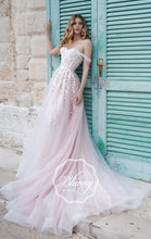 Load image into Gallery viewer, Blunny Collection 'Bailey' Naviblue Bridal RTW 18290-430 Ready To Wear European Bridal Wedding Gown Designer Philippines