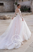 Load image into Gallery viewer, Blunny Collection 'Ballencia' Naviblue Bridal RTW 18292-410 Ready To Wear European Bridal Wedding Gown Designer Philippines