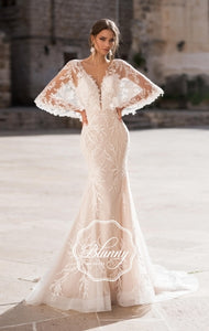 Blunny Collection 'Becca' Naviblue Bridal RTW 18311-380 Ready To Wear European Bridal Wedding Gown Designer Philippines