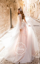 Load image into Gallery viewer, Blunny Collection 'Brianna' Naviblue Bridal RTW 20026-450 Ready To Wear European Bridal Wedding Gown Designer Philippines
