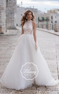 Blunny Collection 'Brookelynn' Naviblue Bridal RTW 72977BK-3-500 Ready To Wear European Bridal Wedding Gown Designer Philippines