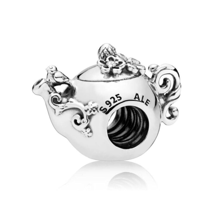 Kettle Pandora charm 92.5 Italy silver
