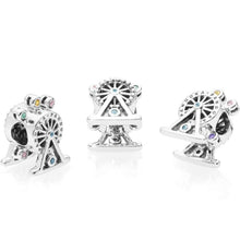 Load image into Gallery viewer, Ferris wheel Pandora charm 92.5 Italy silver